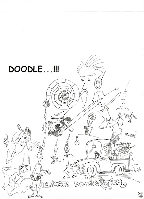 Toonfinder: STREAM OF CONSCIOUSNESS DOODLING...JUST THE