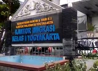 JAM BUKA LAYANAN KANTOR IMIGRASI YOGYAKARTA