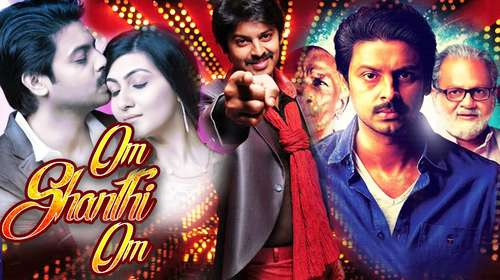 Poster Of Om Shanti Om 2016 Hindi Dubbed 720p HDRip x264 Free Download Watch Online Worldfree4u