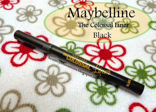 Draw your eyes with New Maybelline Colossal Liner Black...