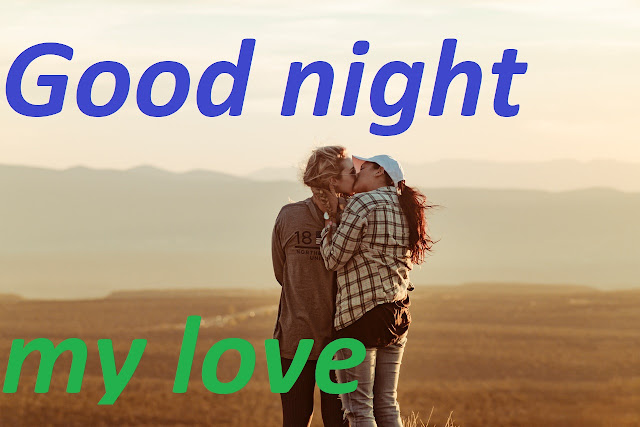 Good night Kiss image with love