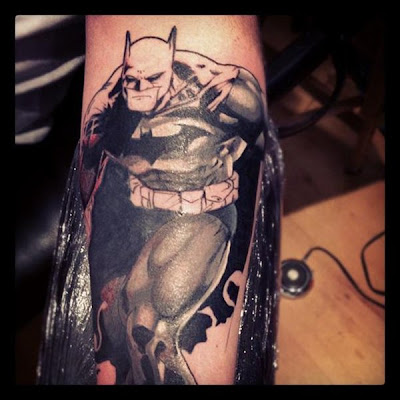 Tatuaje de Batman