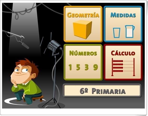 """""""Juegos, Números… ¡Acción!"""". 6º de Primaria."""