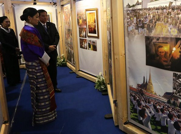 Queen Jetsun Pema attended the opening of the first Bhutan-Thailand Festival at the Youth Development Fund Multipurpose Hall in Thimphu, Bhutan