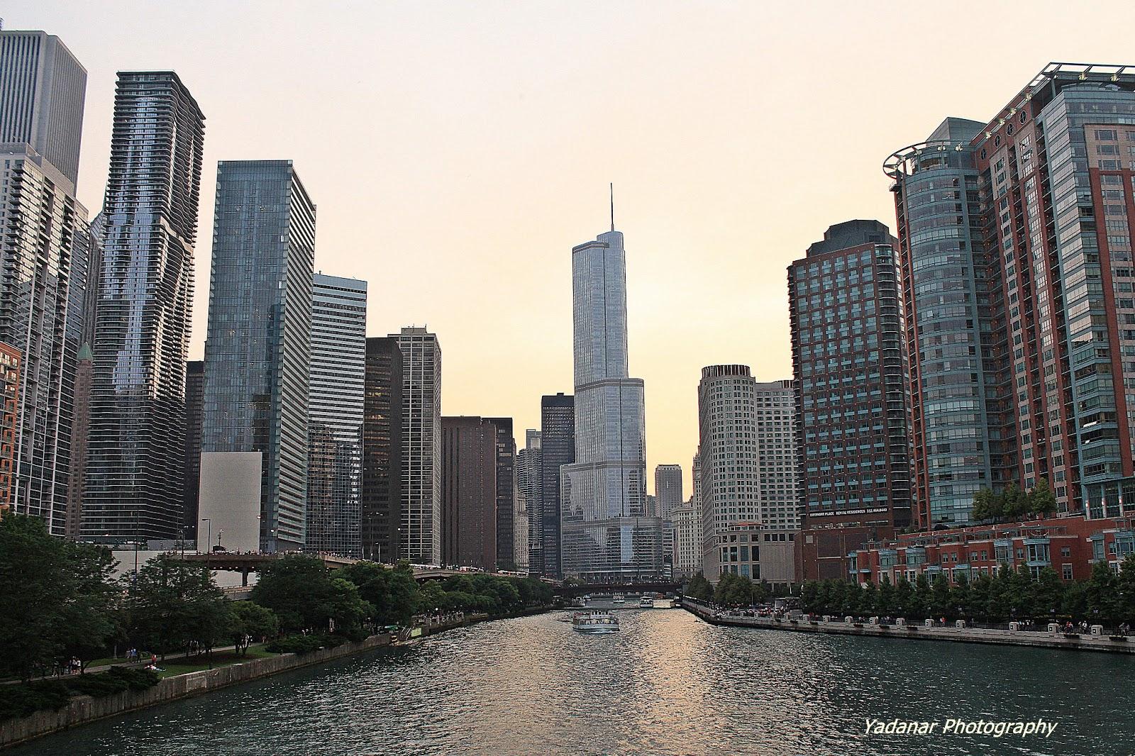 Chicago Urban Scene | Yadanar Hmway
