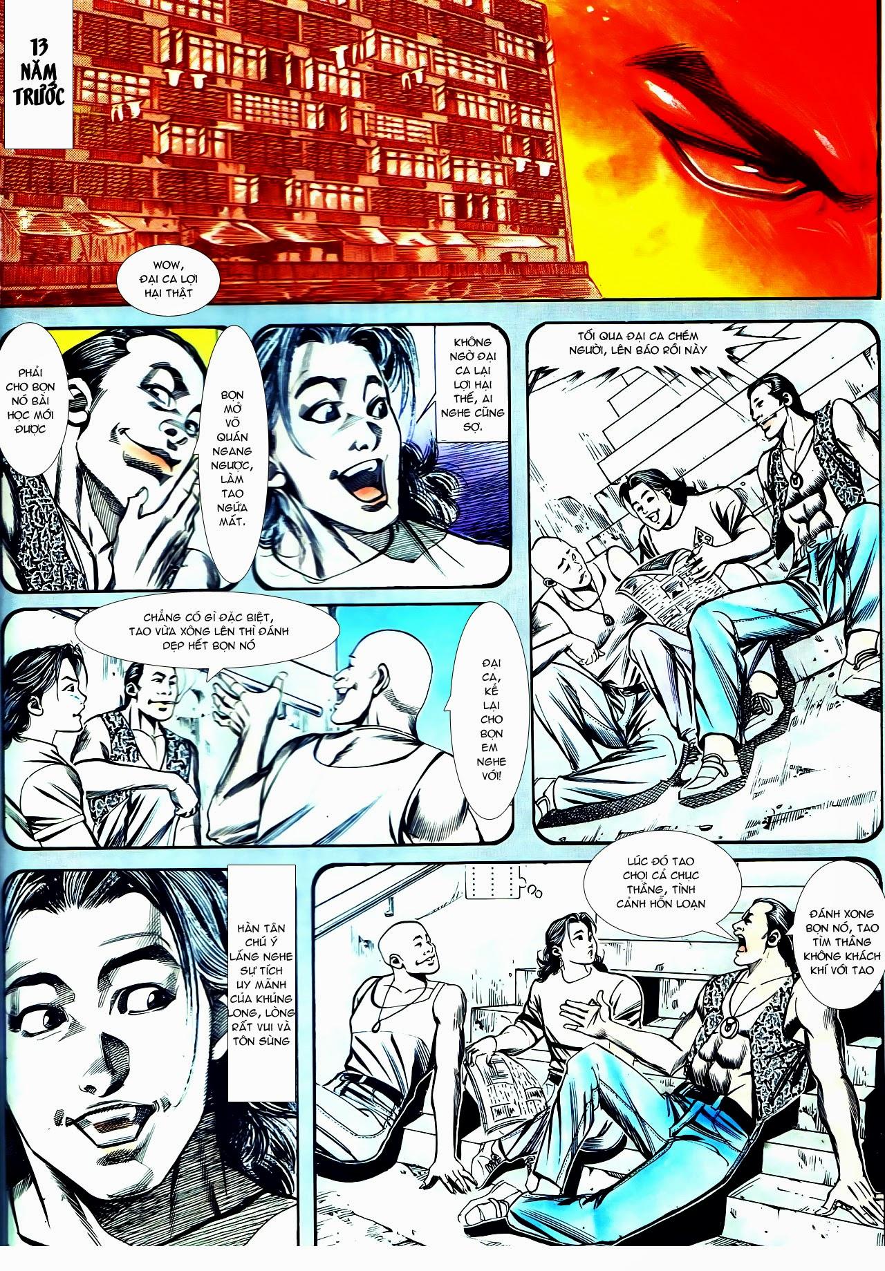 Người Trong Giang Hồ chapter 130: cô ta đến từ giang hồ trang 18