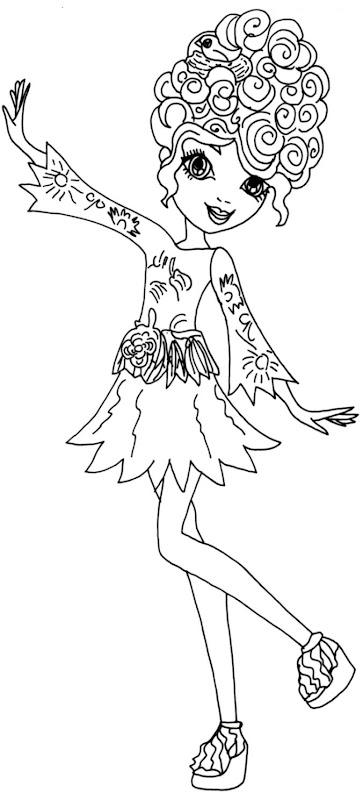 Ever After High Coloring Sheets To Print | Joss Wallpapers