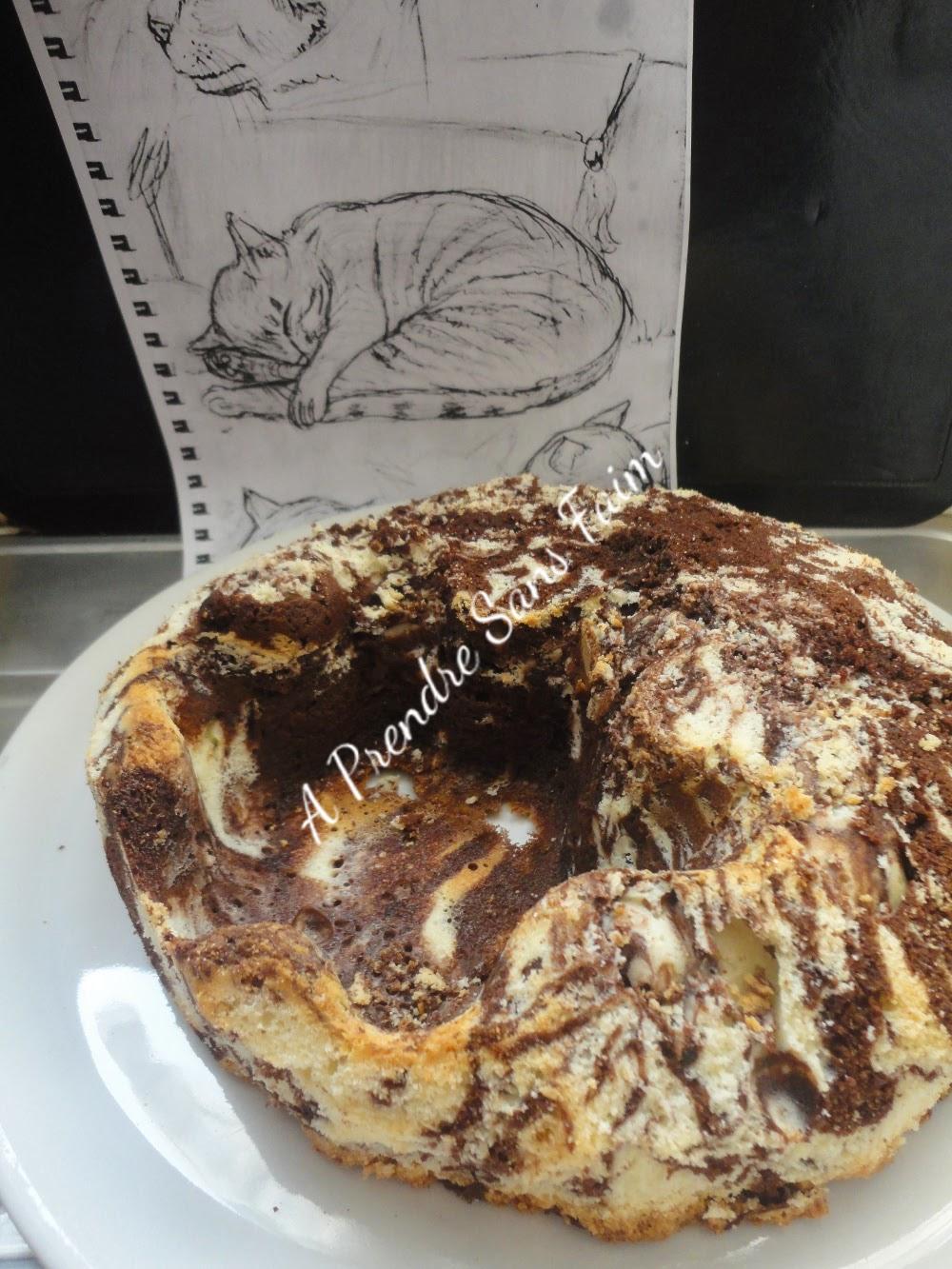 Chat tigré «Choco-coco» (pas à pas en photos)