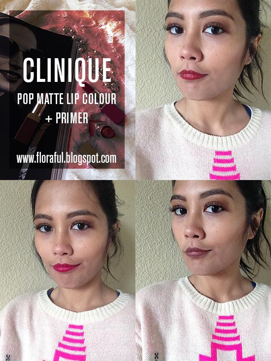 Clinique Pop Matte Lip Colour + Primer, Clinique, Clinique Pop Matte, Clinique Pop, Clinique lipstick, Clinique Pop lipstick, Clinique Rose Pop, Clinique Icon Pop, Clinique Clove Pop