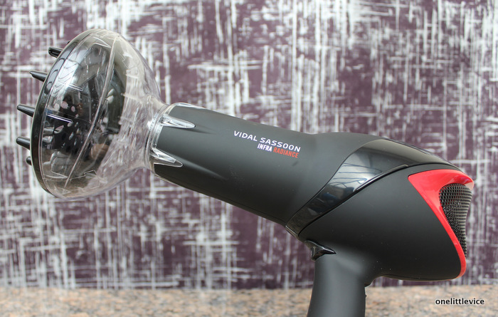 boots hair dryer review: one little vice beauty blog