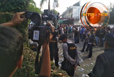 Pleno KPU NTB, Mataram Bakal Dikepung Sepuluh Ribu Massa