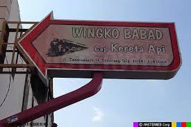Kuliner Semarang Wingko Babad