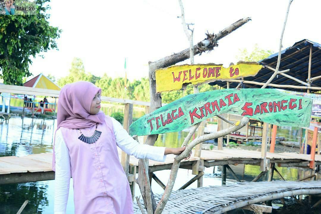 Telaga Kermata Saronggi di Sumenep, Jawa Timur