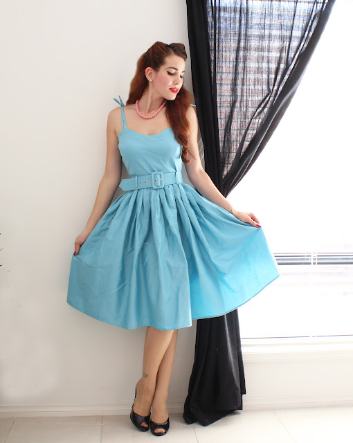 Collectif Jade Dress and Accessories