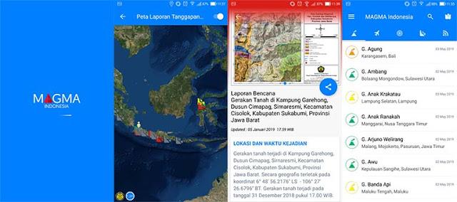 Magma Indonesia - Aplikasi Tanggap Darurat Menghadapi Bencana Alam