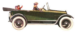 car vintage image illustration digital download