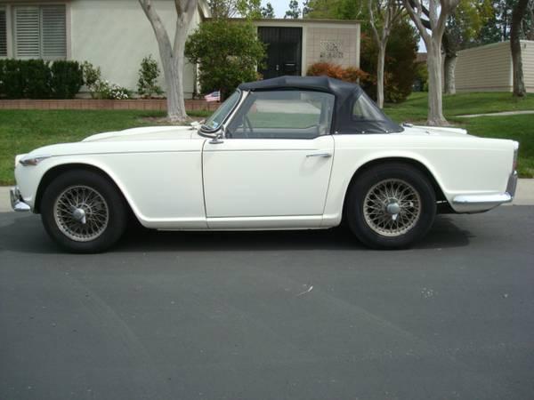 Excellent 1967 Triumph Tr4a Auto Restorationice
