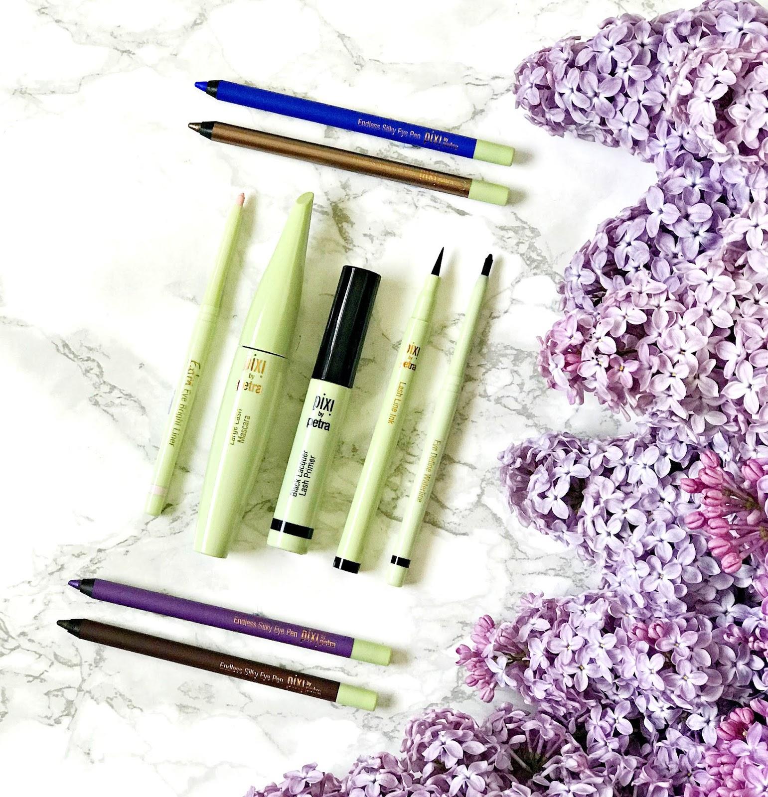 Pixi, Lash Primer, Large Lash Mascara, Extra Eye Brightener, Eye Define Waterline, Endless Silky Eye Pen, Lash Line Ink, Review