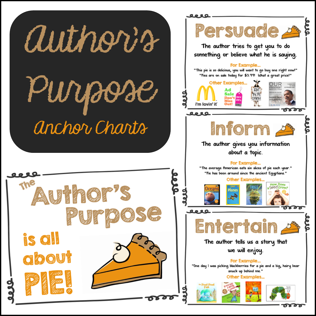 Author S Purpose Charts