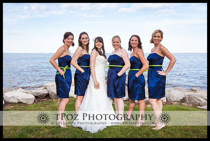 Bridesmaids Picture Gibson Island Wedding