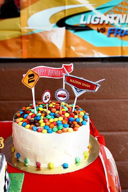 Rainbow Cake Deco