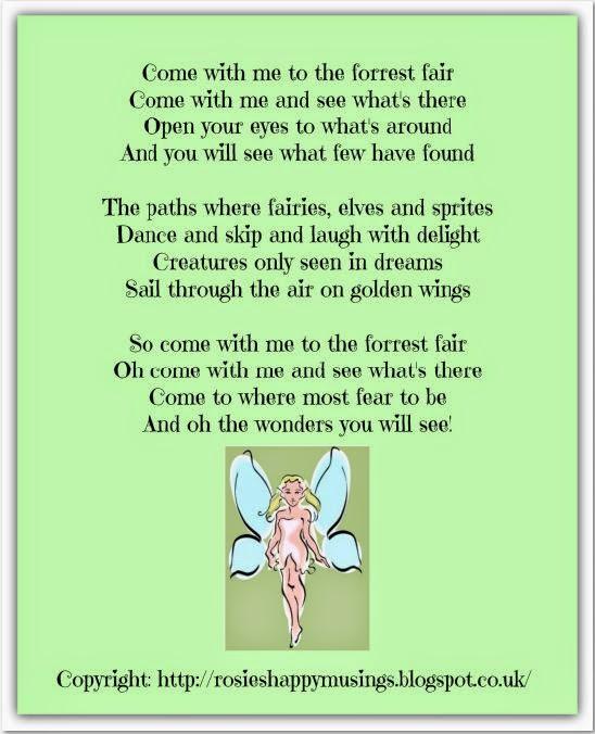 Rosies Cottage - fairy poem