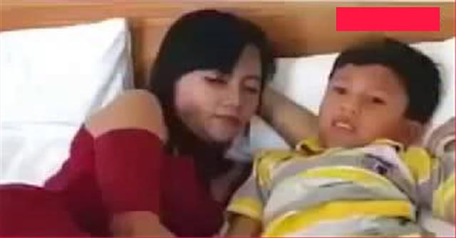 Viral, Video Mesum anak anak dan Tante girang - Si Mantap News
