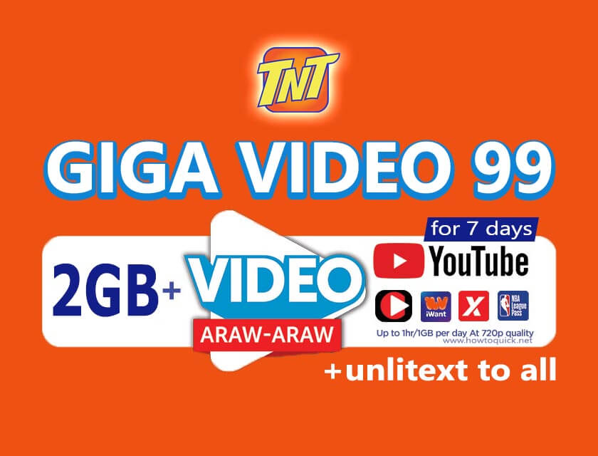 TNT GIGA Video 99
