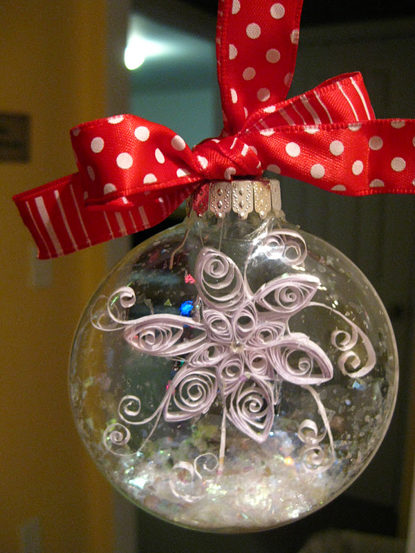 My Mind - My Life: Homemade Christmas Ornaments