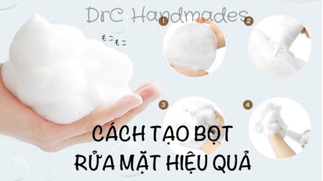 TẠI SAO CÁC SẢN PHẨM SỮA RỬA MẶT HÀN, NHẬT THƯỜNG CÓ ĐỘ PH CAO?, sữa rửa mặt tạo bọt, pH sữa rửa mặt, cách tạo bọt rửa mặt, rửa mặt tạo bọt