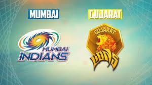 Mumbai Indians (MI) vs (GL) Gujarat Lions