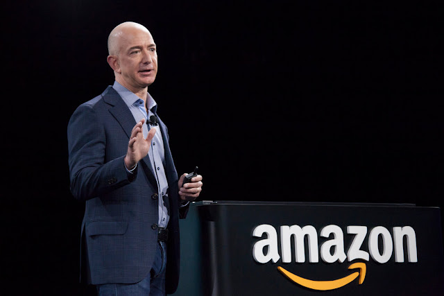 Jeff Bezos, the Amazon CEO has Became the 3rd Richest Man in the World