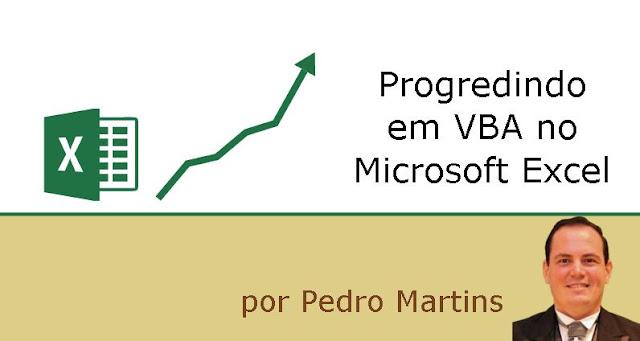 Progredindo em VBA no Microsoft Excel