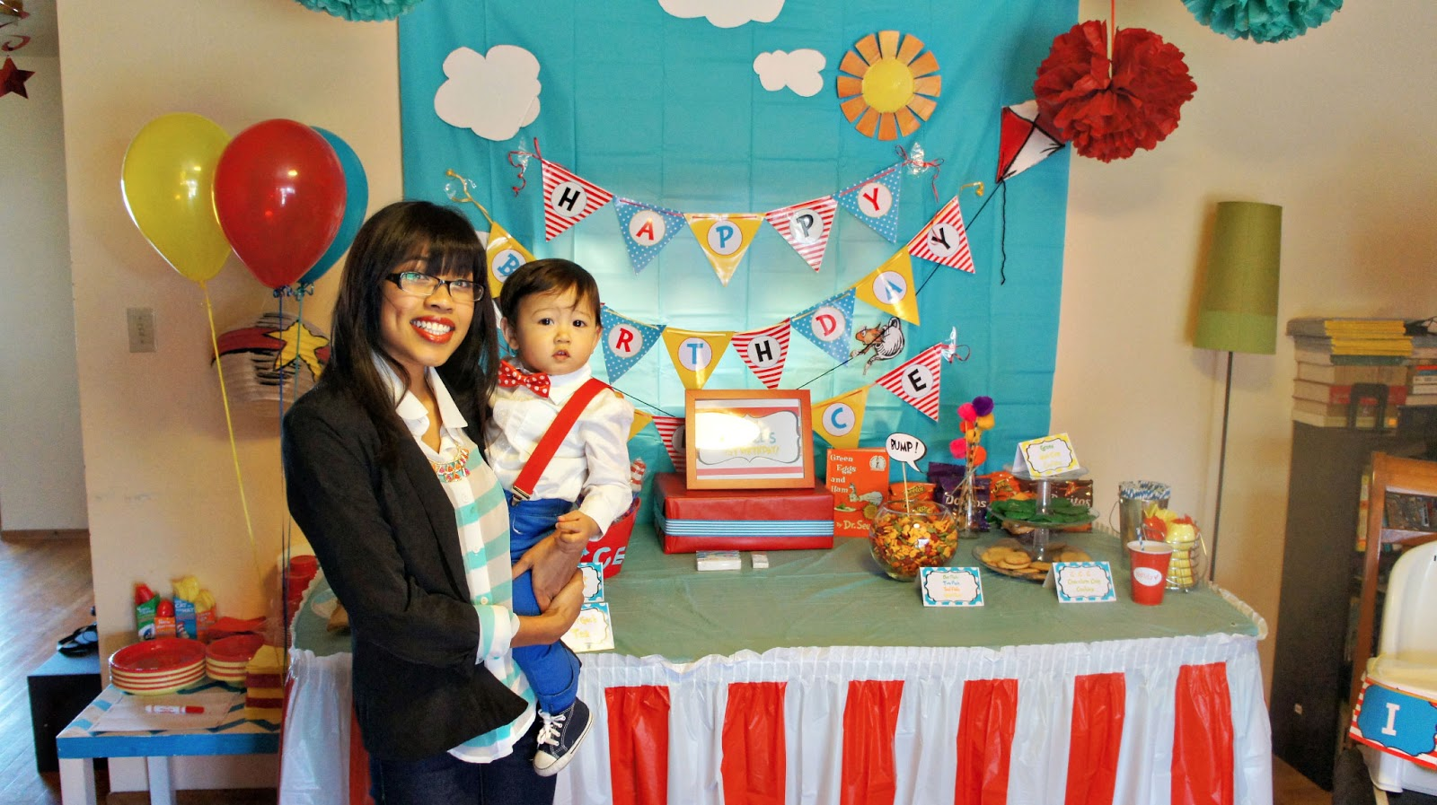 Mswenduhh Planning Amp Printable Dr Seuss Birthday Party