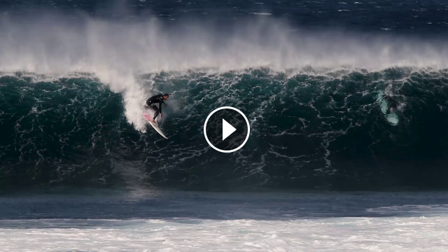 Winter Habits - Jose Maria Cabrera video de tubos en Lanzarote
