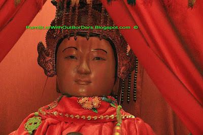statue, Tin Hau Temple, Aberdeen, Hong Kong