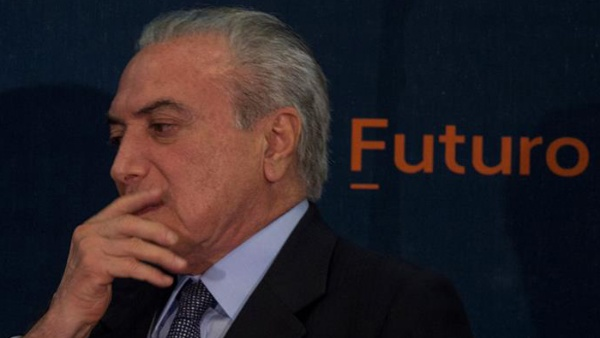 Bajo el mando de Temer Brasil sufre su peor desempeño económico