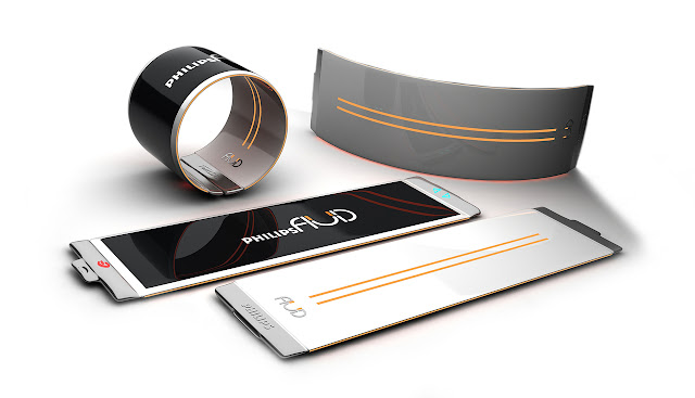 Future Technology SmartPhones with Flexible Wearable OLED Display