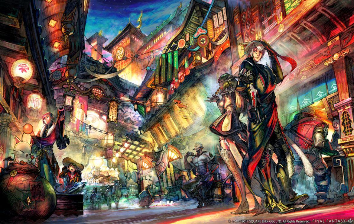 Final Fantasy 14 Wallpapers Wallpapers Minimalist