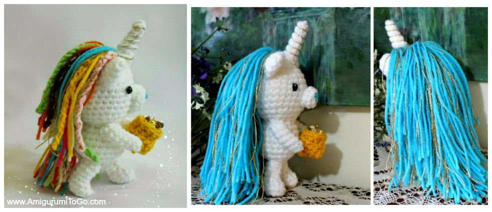 Amigurumi Unicorn - FREE Crochet Pattern / Tutorial | Crochet ... | 423x980