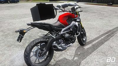 Download mod moto Mt 09 Com Braço para GTA San Andreas , GTA SA Jogo PC