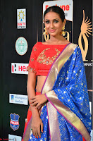 Priya Shree in Beautiful Blue Saree at IIFA Utsavam Awards 2017  Day 2    HD Exclusive Pics 19.JPG
