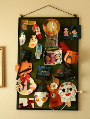 手作りハロウィン折り紙