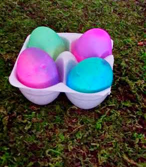 Easter Eggs, Neon Colored Eggs