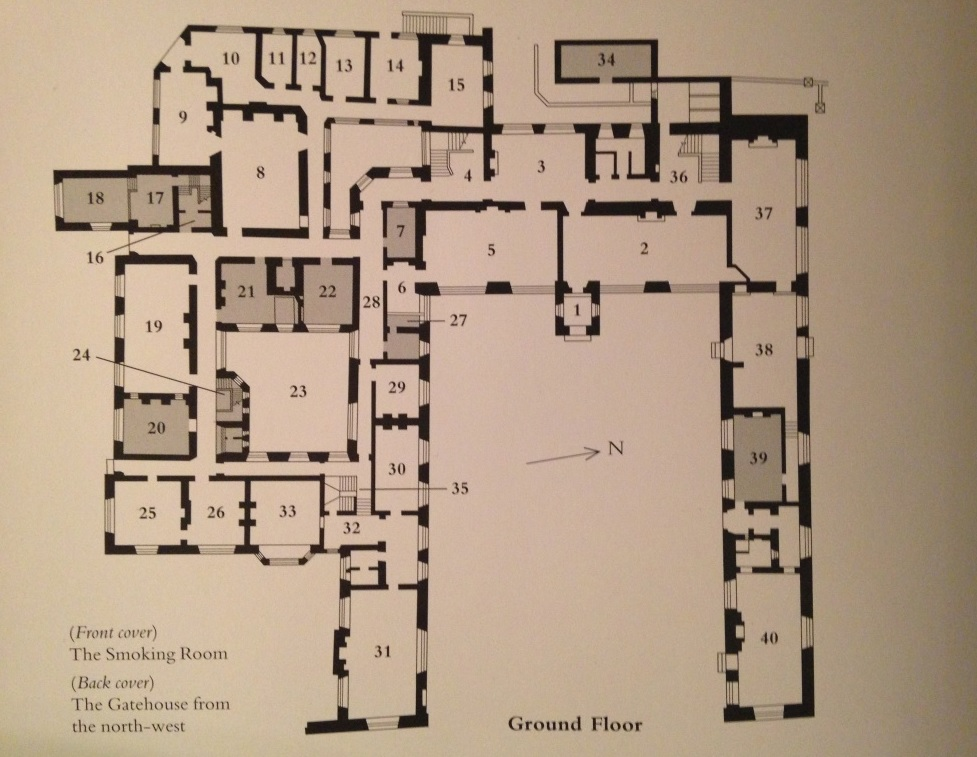 National Trust Scones Lanhydrock – Knole House Floor Plan