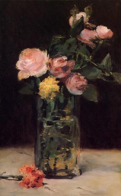 Les 233 Toiles D Artlubie Edouard Manet Et Les Fleurs