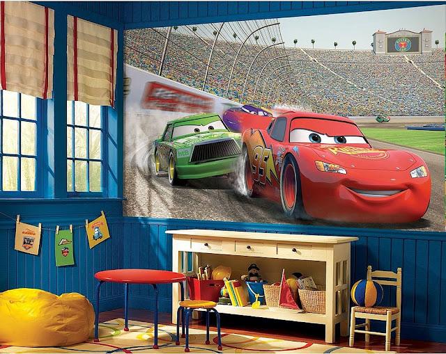 valokuvatapetti lapsia Disney cars Disneyn Autot lastenhuone tapetti lasten tapetti