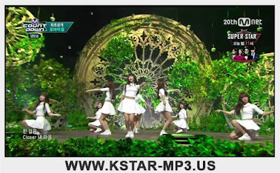 [Performance] Oh My Girl - CLOSER @ M! Countdown 2015.10.08