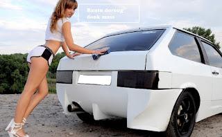 mungkin kalian pernah menjumpai cara orang menyalakan mesin mobil ketika mengalami mogok  Cara Starter Dorong Mobil Mogok