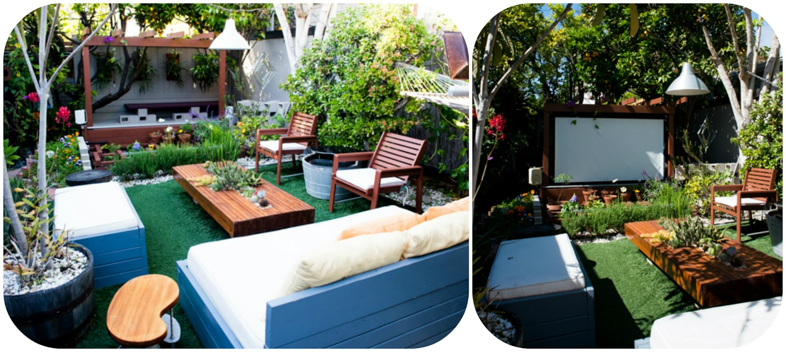 exterior living room design movie theater